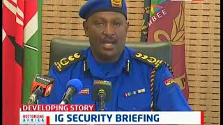 IG Hillary Mutyambai's security briefing on illegal birth certificate issuance