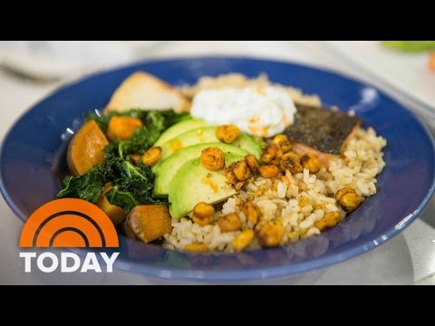 Salmon And Veggie Bowl: Try Siri And Carson's Delicious Recipe | TODAY