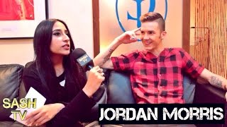 JORDAN MORRIS INTERVIEW: MUSIC 'TAKING YOUR SIDE & DO IT LIKE ME', WORKING WITH DAPPY + MORE| SASHTV