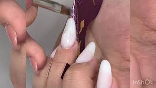 ALMOND MILK NAILS W/t MŪSA | Alicebosconails