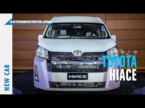 2019 Toyota Hiace global launch - New Cars