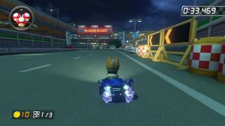 N64 Toad's Turnpike - 1:39.631 - ☆StarFox☆ (Mario Kart 8 World Record)