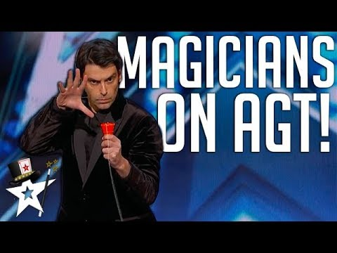 All Magicians on America's Got Talent 2018 | Magicians Got Talent (видео)