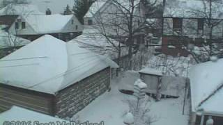 Historic NYC Blizzard Of 2006 (Time-Lapse)- February 11th/12th, 2006