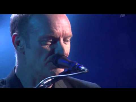 Sting in Moscow - Fragile (LIVE)