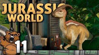 O ícone, Parassaurolofo! | Jurassic World Evolution #11 - Gameplay Português Dublado PT-BR