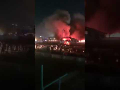 114 قتيلا ضحايا حريق مستشفى كورونا بالعراق