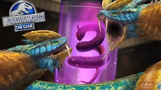 CHÚNG TÔI ĐÃ MỞ KHÓA DILOPHOBOA HYBRID MỚI CHƯA?!?! | Jurassic World - The Game - Ep485 HD