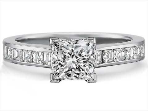Square Diamond Rings White Gold Designs