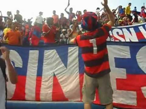 """""""Garra Samaria Norte 2012"""" Barra: Garra Samaria Norte • Club: Unión Magdalena"""