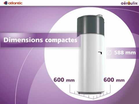 Aéraulix :VMC Chauffe-eau thermodynamique BBC sur air extrait