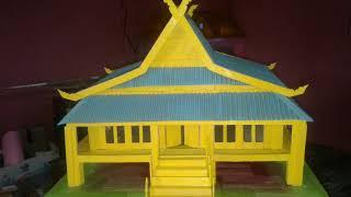 Rumah Adat Betawi Dari Stik Es Krim Free Online Videos Best Movies