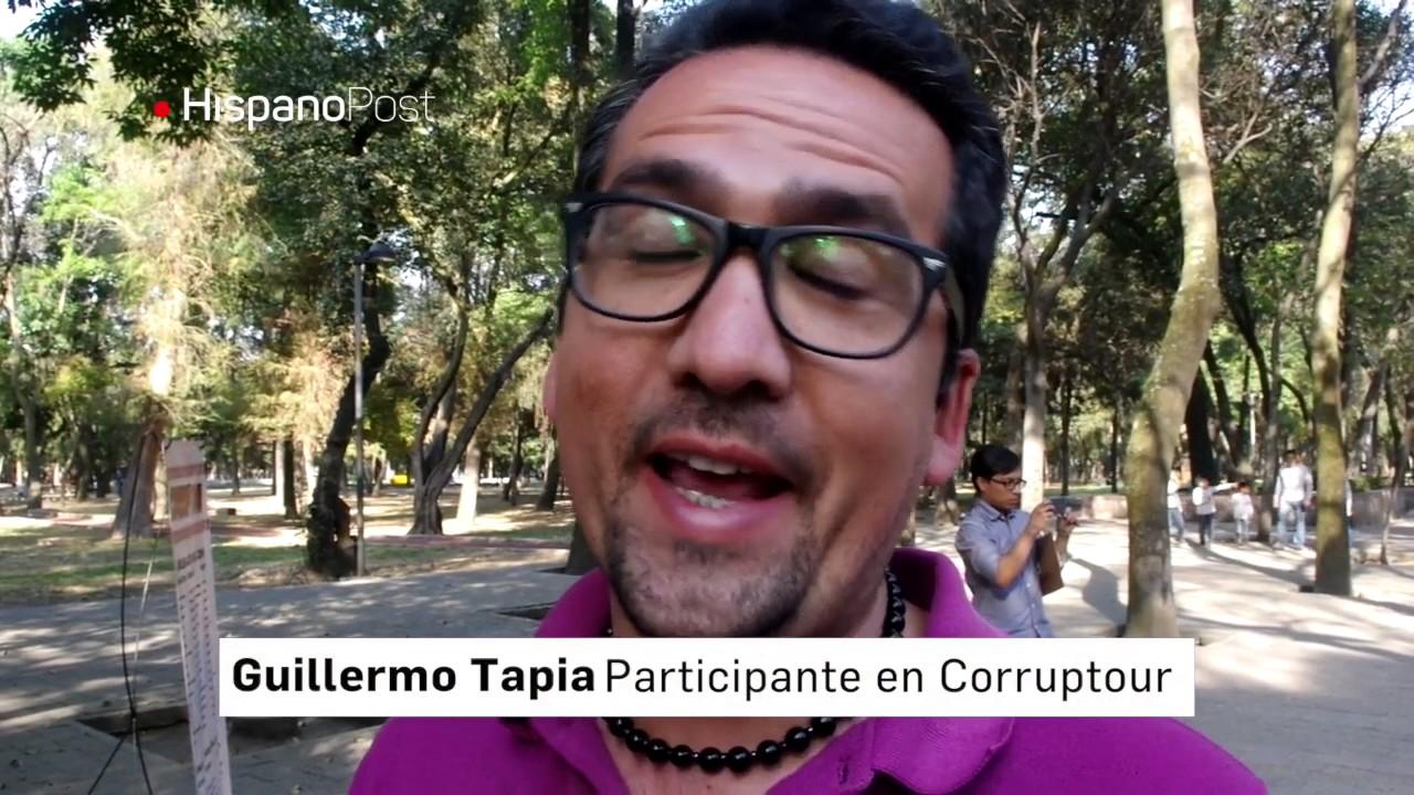 """ONG organiza """"tour"""" por lugares emblemáticos de corrupción en México"""