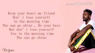 Johnny Drille   Shine (lyrics) 💃