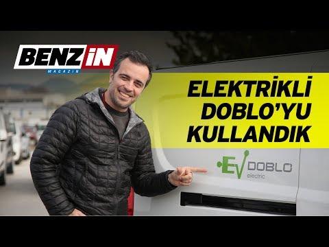 Elektrikli Fiat Doblo'yu kullandık | Fiat yarış otomobilleri turu | VLOG
