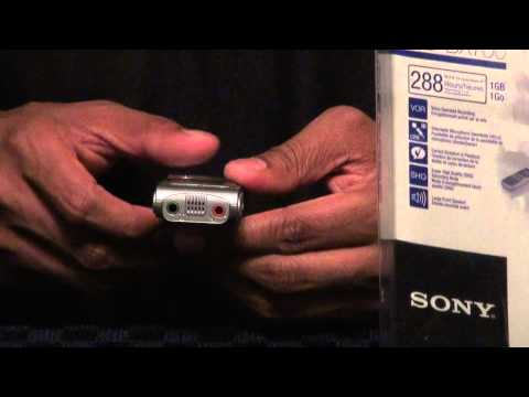 Overview Of Sony ICD-BX700 Voice Recorder Mp3