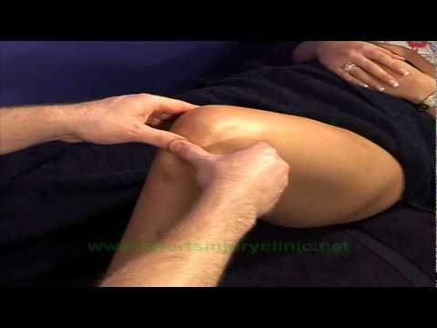 Video Sports Massage Techniques for Treating Jumper's Knee (Patella Tendinopathy)