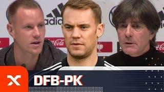 Marc-Andre ter Stegen und Joachim Löw äußern sich zu Manuel Neuer   Deutschland - Argentinien   SPOX