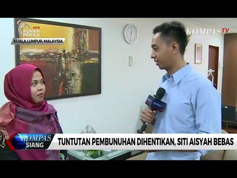 Ini Curhatan Siti Aisyah Setelah Dibebaskan
