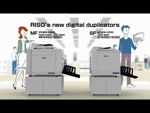 Riso MF 9350 Printing Machine