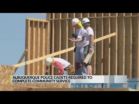 APD requires cadets to complete community service project