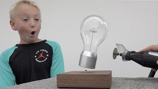 What's Inside A Levitating Light?
