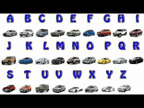 Download Learn Car Brands From A To Z Full Alphabet Video 3GP Mp4