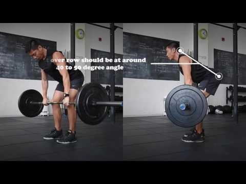 Pendlay vs bent over vs yates row