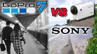 GoPro Hero 7 Finally Beats Sony X3000? Better Stabilization!