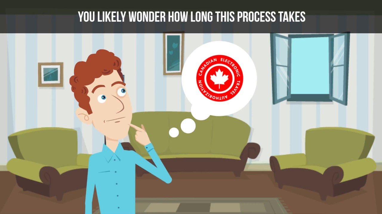 How much time is needed to complete a Canadian eTA application?