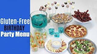 Easy Kids Birthday Party Menu | Gluten-Free, Nut-Free