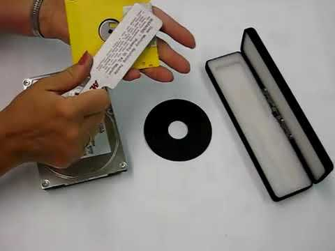 Video of the Applied Magnetics AML-6KG Disk Erasing Paddle Shredder