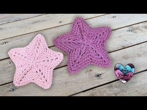 étoiles Crochet Facile Lidia Crochet Tricot Simple Crochet