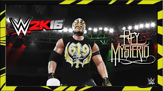 WWE 2K16 - Rey Mysterio - CAW Formula+Entrance & Finisher