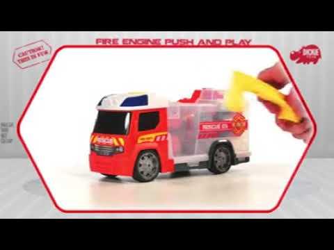 Пожарная машина Dickie Toys, 33 см