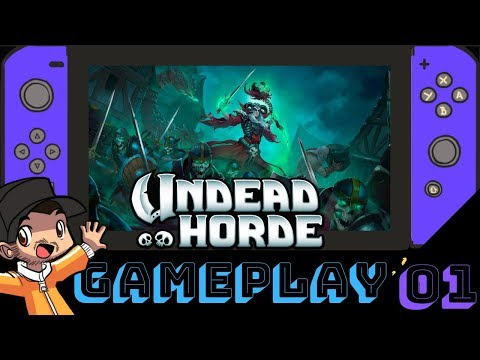 Undead Horde Nintendo Switch Gameplay | Docked Gameplay | Walkthrough Part 1