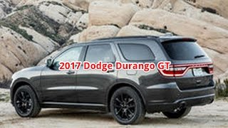 2017 Dodge Durango - Dodge Durango GT, Review Interior + first Drive