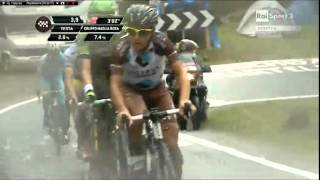 preview picture of video 'Giro d'Italia 2014 Ponte di Legno PASSO GAVIA part6'