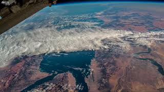 Earth from Space Time lapse: Egypt, The Red Sea, The Nile, Saudi Arabia