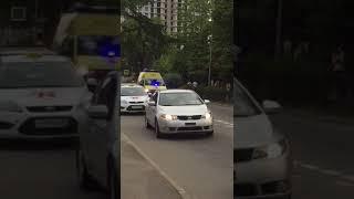 Крупный пожар в Сочи