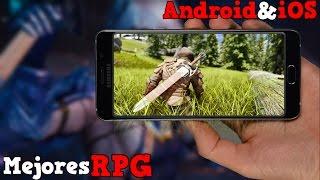 TOP 10 Mejores Juegos RPG/Role Para Android  & iOS |2016