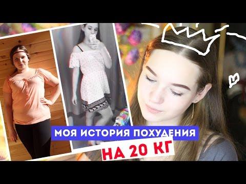 МОЯ ИСТОРИЯ ПОХУДЕНИЯ НА 20 КГ