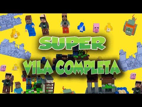 Super Vila Completa ( Minecraft ) Parte 4 Final