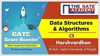 Data Structures & Algorithms (Computer Science Engineering) - Most Important Questions | GATE - 2019