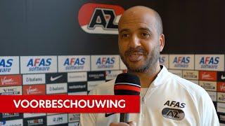 Jansen: 'Jagen op PSV'   Voorbeschouwing AZ - Sparta
