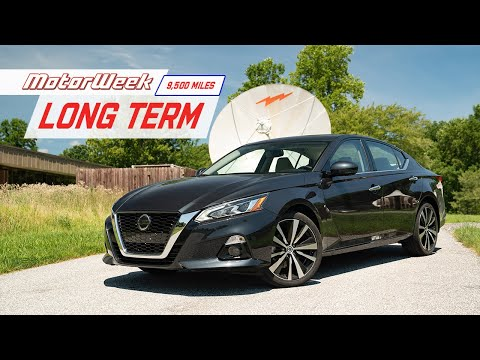 2019 Nissan Altima Long Term 9500-Mile Update