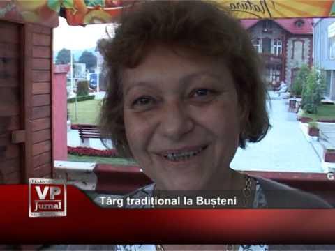 Târg tradițional la Bușteni