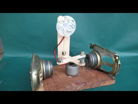 How to Make free energy Generator With Magnet very easy – Experiment DIY Science Project School 2018