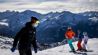 video: Hundreds of British holidaymakers escape from quarantine in Verbier