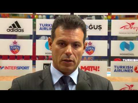 Post-game interview: Coach Itoudis, CSKA Moscow